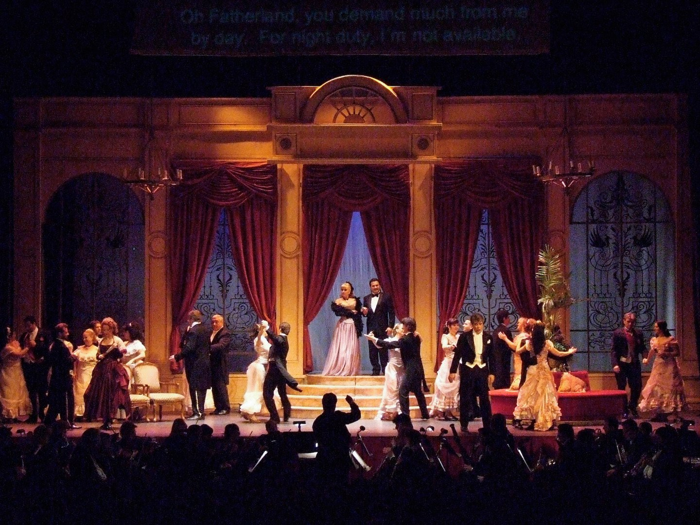 Lehar's THE MERRY WIDOW (this set can also be used for Verdi's LA TRAVIATA)