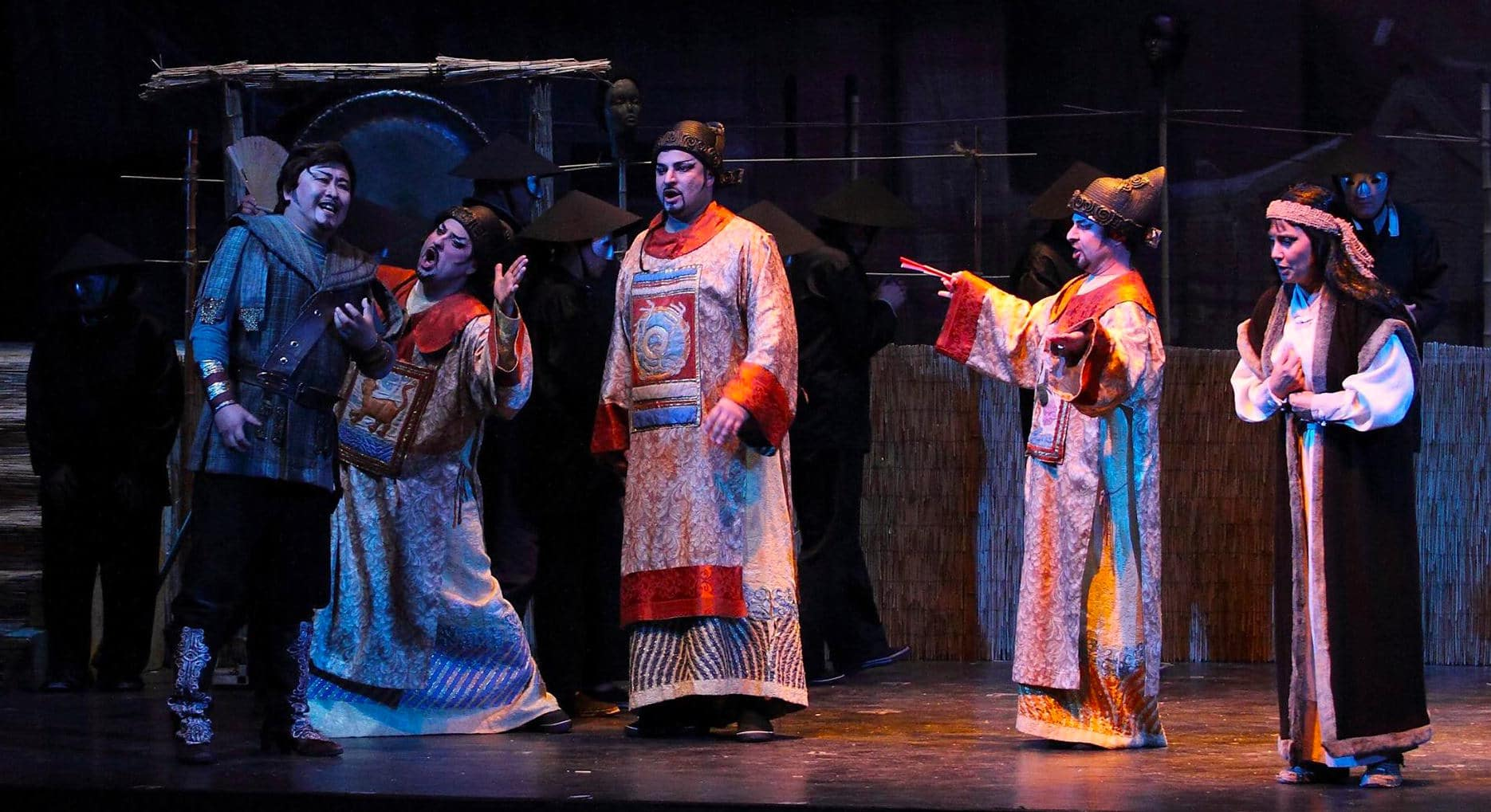Puccini's TURANDOT - Teatro Lirico D'Europa Entertains a Packed House!
