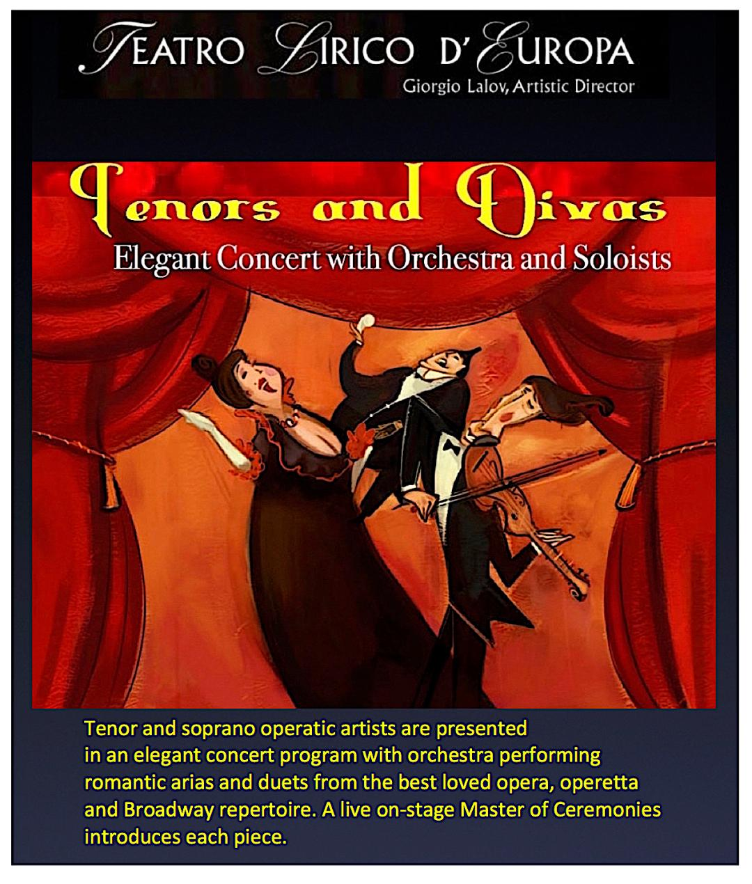 tenors and divas