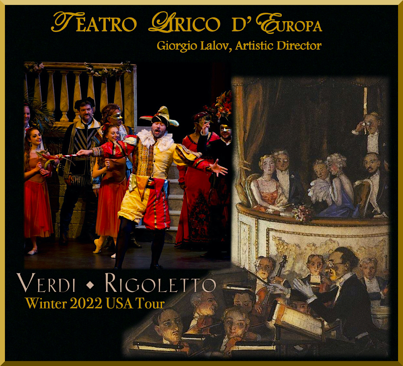 Verdi's RIGOLETTO 2022 Tour